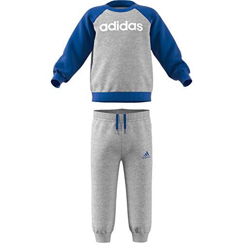 Bianco Grigio Medium Heather I tuta Pantalone Blu Fl Adidas Lin wSgYnqxpa