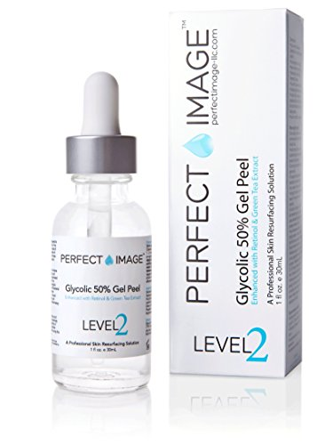 (Glycolic Acid 50% Gel Peel - Enhanced with Retinol & Green Tea Extract (Professional Skin Peel)1 ounce)