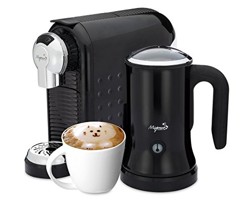 Cappuccino Maker - Nespresso Compatible Capsules - By Mixpresso (Black)