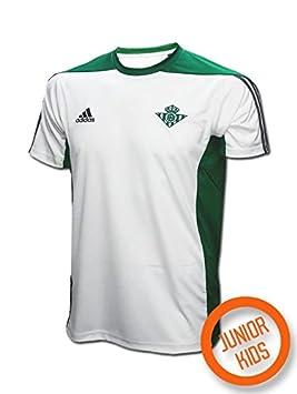 Adidas Linea Betis FC Camiseta, Niños, Verde (Custom), 7-8 años: Amazon.es: Deportes y aire libre
