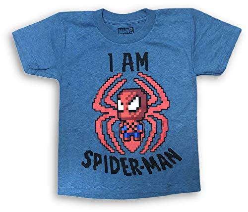 I am Spiderman Boy's Toddler T-Shirt XS 4/5