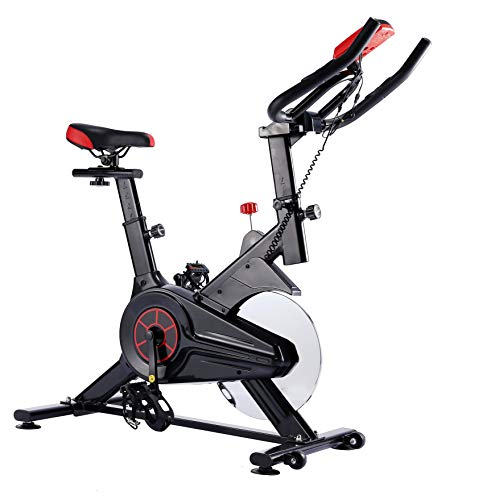 UK Fitness Exercise Bike Home Training Indoor Spin Bike Includes Spinning Style Training Program