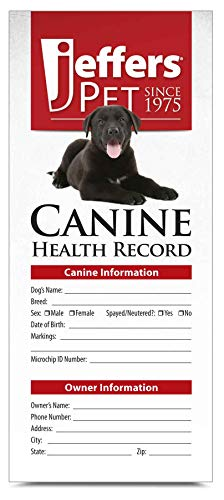 Jeffers Dog Health Records