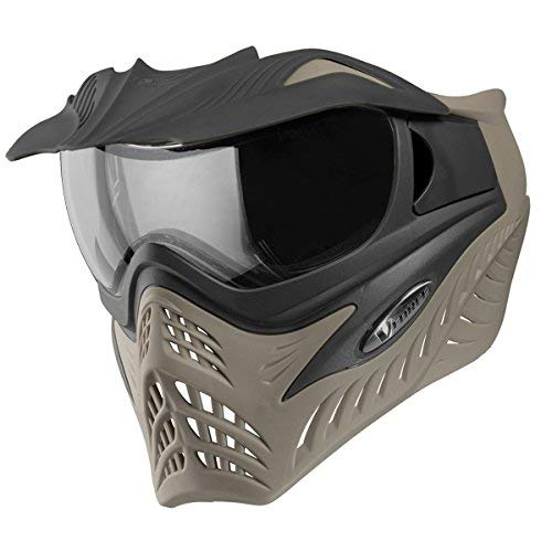 V-Force Grill Paintball Mask/Goggles (SE Black/Taupe) by VForce
