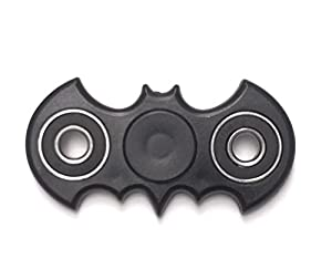 Bat Style Batman Anti-Anxiety 360 Spinner Helps Focusing Fidget Toys [3D Figit] for Kids Stress Reduce ADHD Anxiety 608 Bearing (Black) PRIME at Gotham City Store