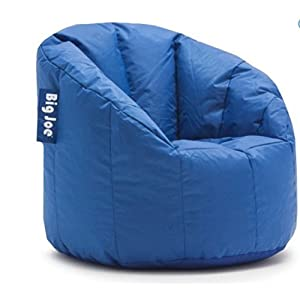 Big Joe Milano Bean Bag Chair Multiple Colors, Provides Ultimate Comfort, Great for Any Room (Stadium Blue)