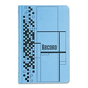 Adams Record Ledger, 7.63 x 12.13 Inches, Blue, 500 Pages (ARB712CR5)