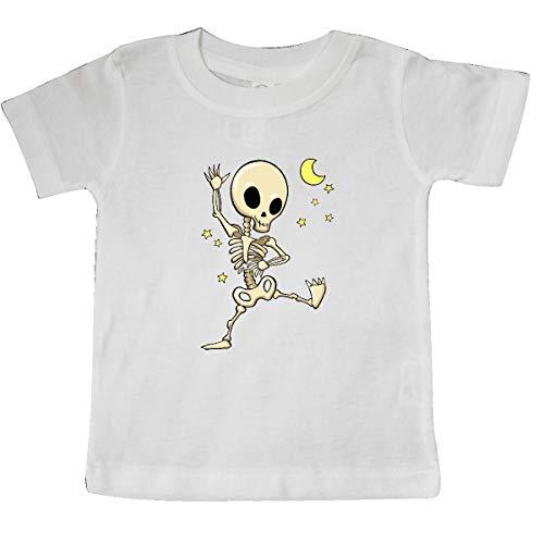 inktastic - Cute Dancing Skeleton Baby T-Shirt 18 Months White]()