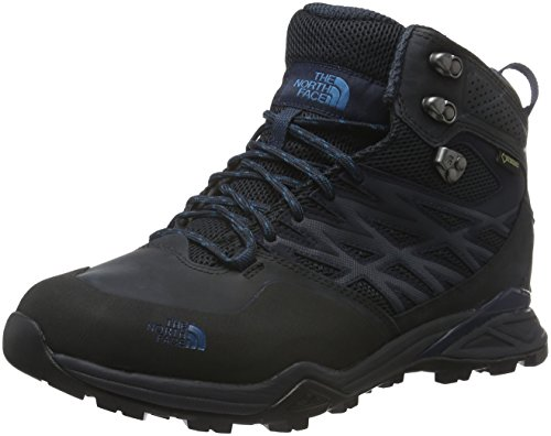The North Face North Face M Hedgehog Hike Mid GTX, Scarpe da Camminata Uomo Grigio (Phantom Grey/Blue)