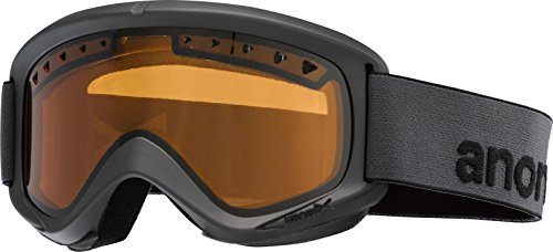 Anon Helix Goggles Stealth/Amber Lens Mens - Anon Helix Goggles