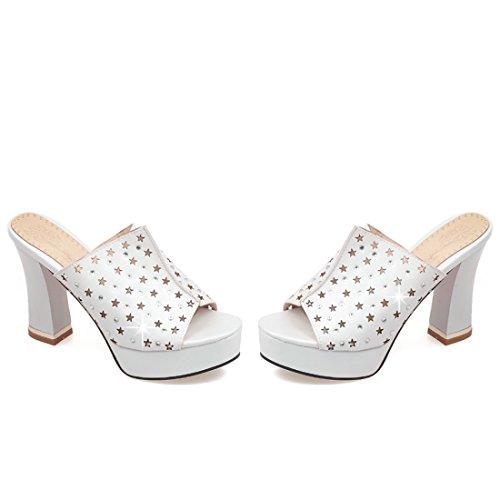 sulla Aperte Donna Bianco Caviglia UH ZxBwq45w