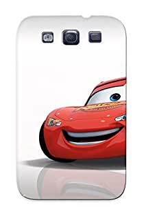 Fashionable Style Case Cover Skin Series For Galaxy S3- Lightning Mcqueen