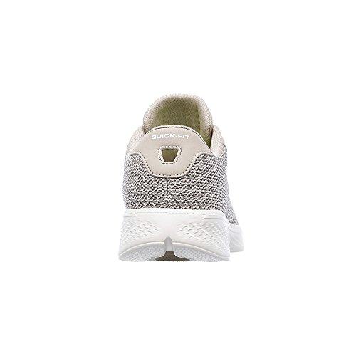 nbsp;Femme Décontracté Chaussures Taupe Medium Walk Go 5 nbsp;Glorify 5 4 Skechers 2018 qRfwxf