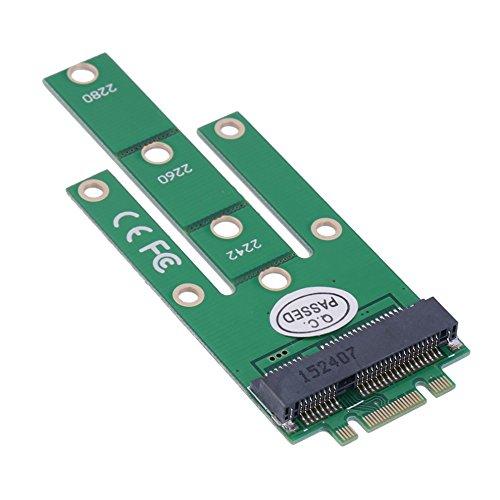 - CY M.2 NGFF PCI-E 2 Lane Golden Finger Pin to 50mm Mini-PCIE mSATA 18+8 SSD Hard Disk PCBA