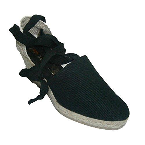 Chaussures de Valence liés à la patte de clavette moyenne Andinas en noir