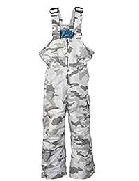 Pulse Boy's DELUXE Ski Bib - Preschool - SnowCamo - Small; 2017