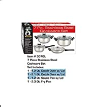 Eurohome Stainless Steel Cookware Set
