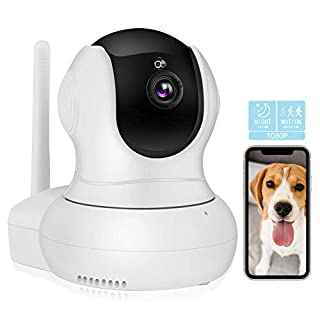 Nanny cams Wireless with Cell Phone app,TSW 1080P HD Wireless IP Camera with Night Vision/2-Way Audio, Pan/Tilt WiFi Indoor Home Dome Pet Dog Camera,Baby Monitor,Remote Surveillance Monitor