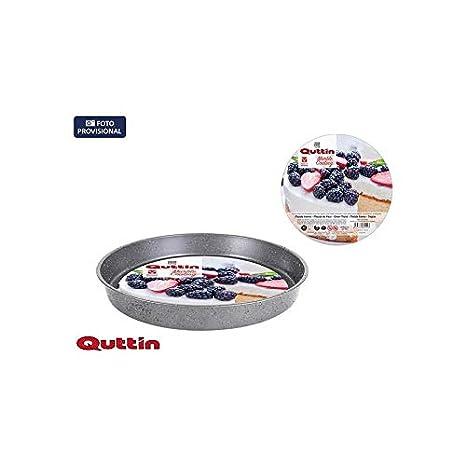 Amazon.com: Quttin 49432 Round Tray Marble, 36 x 5 cm/0.5 mm ...