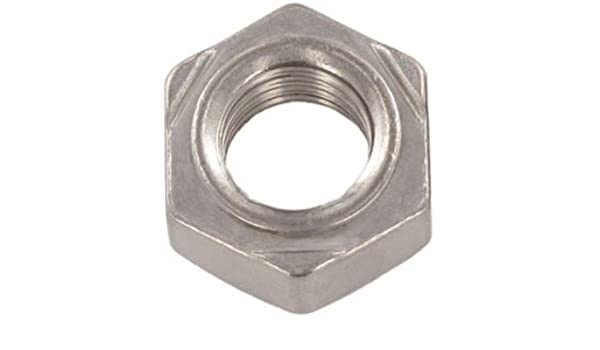 800pcs DIN 929 M8 Hexagon Weld Nuts A2 Stainless Steel ASSP092928 Ships Free in USA by Aspen Fasteners