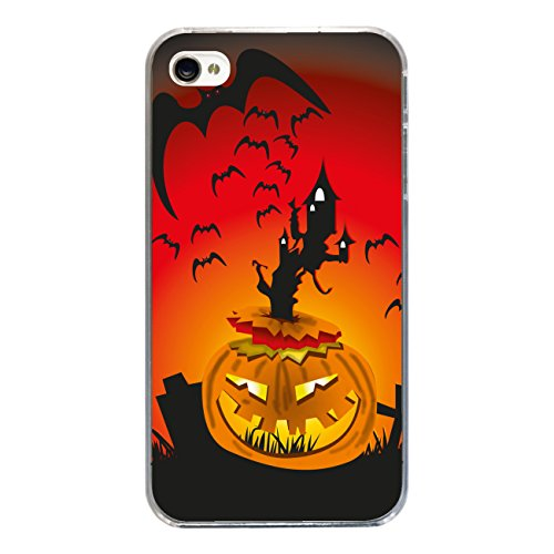"Disagu Design Case Coque pour Apple iPhone 4 Housse etui coque pochette ""Pumpkin"""