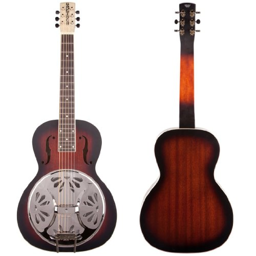 Gretsch G9230 Bobtail Square-Neck Acoustic-Electric Resonator Guitar - 2 Color Sunburst
