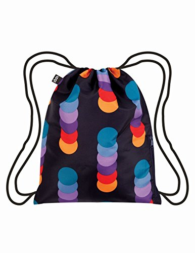 LOQI Geometric Circle Backpack, Multicolor by LOQI