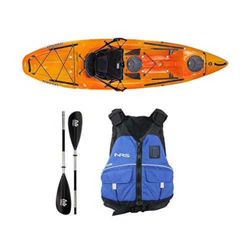 Wilderness Systems Tarpon 100 Mango Kayak - Deluxe Package -