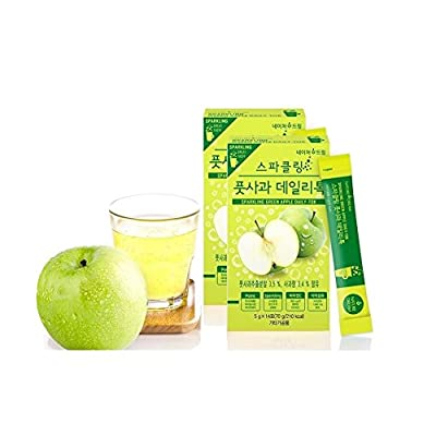 NatureDream Apple Sparkling Detox & Diet Vibrant Cleanse Pack of 2, 28 Servings