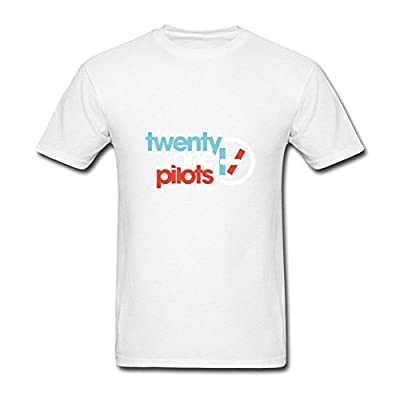 Men's YZ American Popular Band Twenty One Pilots Tour T Shirt For Women Black Short Sleeve T-Shirt