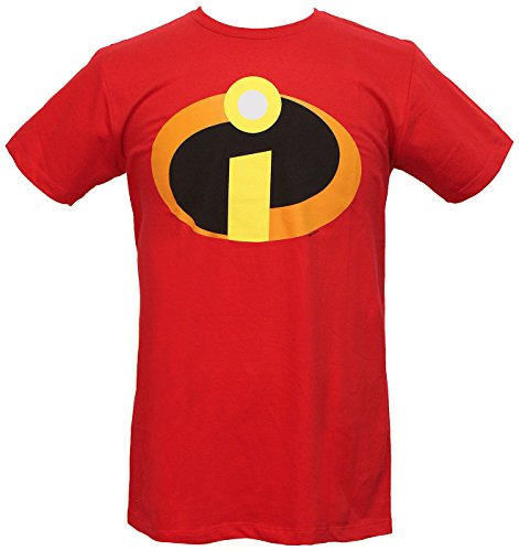 The Incredibles T-shirt Basic icon Logo (XXL/Red) ()