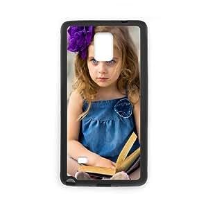Cute Girl Samsung Galaxy Note 4 Cell Phone Case Black CLC