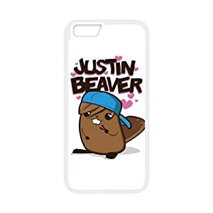iPhone 6 4.7 Inch Phone Case White Justin Beaver UV7N4PGV Customized Cell Phone Cases
