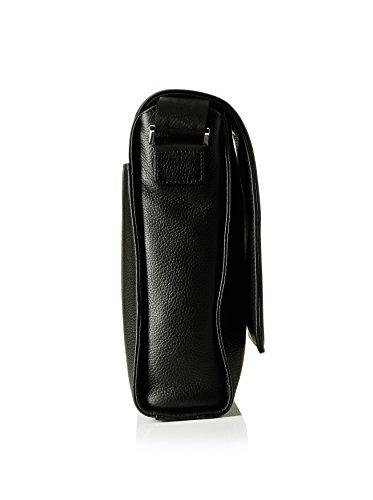 Montblanc  113301, Damen Umhängetasche schwarz Schwarz Única