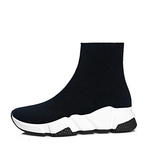 Mode Herren Schwarz Unisex Schuhe Atmungsaktive Outdoor Sliper Damen Turnschuhe Weiß Leichte Sneakers wwCnRqp5I