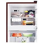 LG 260 L 2 Star Smart Inverter Frost-Free Double Door Refrigerator (GL-N292DSDY, Scarlet Dazzle)