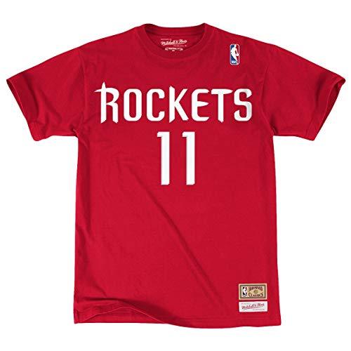 - Mitchell & Ness Yao Ming Houston Rockets NBA Men's Player S/S T-Shirt