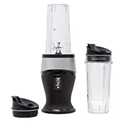 The Ninja Fit Blender combines multiple kitchen appliances in one easy-to-use, powerful and compact tool. With Ninja Pulse Technology, it quickly creates smoothies, nutrient juices and so much more in just minutes. It comes with two 16 ounce ...