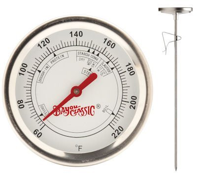 BREW THERMOMETER SS12'' by BAYOU CLASSIC MfrPartNo 800-772 by Ace Trading - Barbour 4