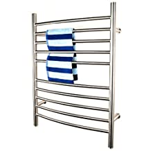 Amba RWP-CP Radiant Plug-In Curved Towel Warmer, Polished