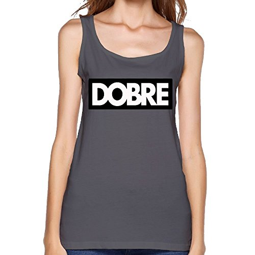 f772076dbdfe3 LanZhuoq Women Dobre Same Popular Logo Athletic Sports DeepHeather Vest XL Tank  Tops