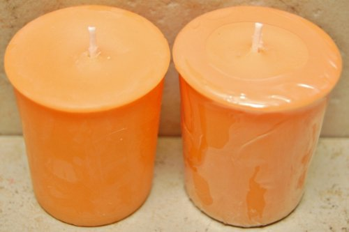 12 Pack 2 oz Scented Soy Votives - Peach