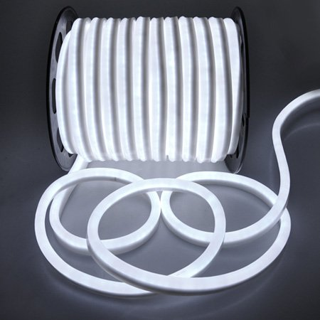 sneakers for cheap 58f1f 6e9ac Amazon.com: Flexible Cool White Illuminated LED Neon Rope ...