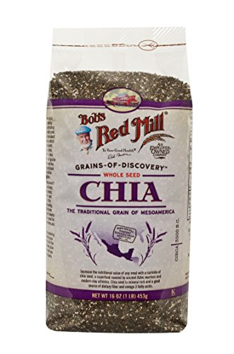 Graines Red Mill Chia de Bob, 16 oz Sacs (comte de 4)