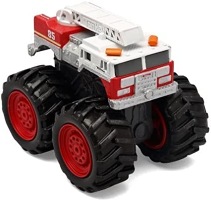 Amazon Com Tonka Die Cast Monster Trucks Extreme Extinguisher Fire Engine By Funrise Toys Games