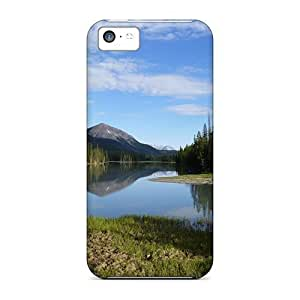 GoldenArea Iphone 5c Hybrid Tpu Case Cover Silicon Bumper A Lovely View