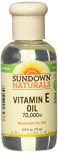 - Sundown Naturals Vitamin E Oil 2.50 oz (Packs of 3)