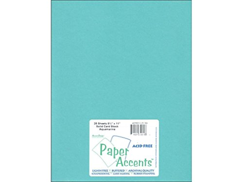 Accent Design Paper Accents Cdstk Smooth 8.5x11 60# -