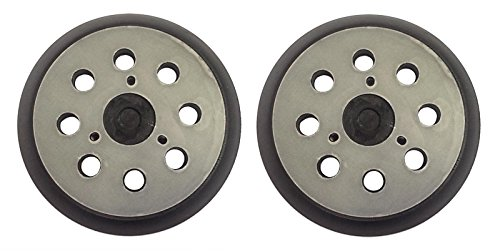 KHY (2) Sander Pads 5 inches in diameter for Random Orbit DeWalt DW4388 DW421