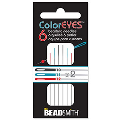 Beadsmith ColorEyes Color Identified Beading Needles (Assorted Sizes) ()